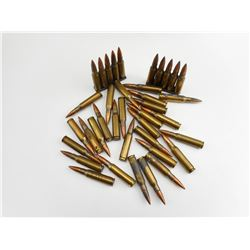 308 MILITARY AMMO, SOME ON STRIPPER CLIPS