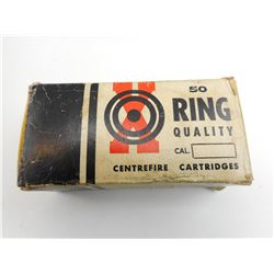 50 RING QUALITY CENTRE FIRE CARTRIDGES COLLECTOR BOX
