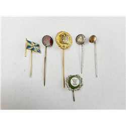 ASSORTED MILITARY STICK PINS