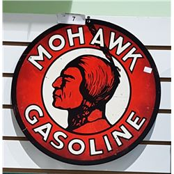 MOHAWK GASOLINE METAL SIGN