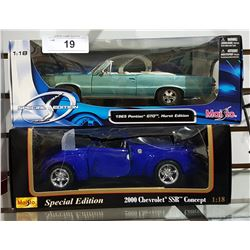 2 NIB DIE CAST CARS