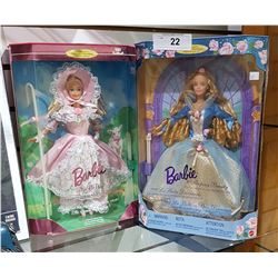 2 NIB BARBIES