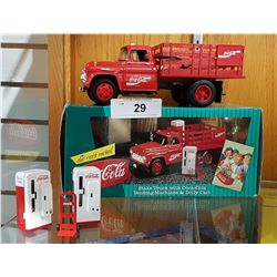 1950'S ERA REPLICA COCA-COLA DIE CAST TRUCK IN ORIGINAL BOX