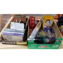 2 BOX LOTS OF COLLECTIBLES