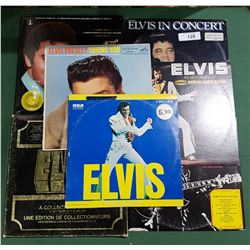 COLLECTION OF ELVIS RECORDS