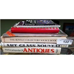 COLLECTION OF 7 ANTIQUES REFERENCE BOOKS