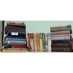 COLLECTION OF 28 VINTAGE/ANTIQUE BOOKS