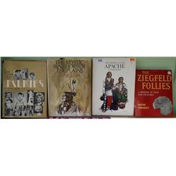 4 COLLECTIBLE HARD COVER COFFEE TABLE BOOKS
