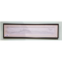 FRAMED PROFILE OF CANADIAN PACIFIC RAILWAY MAINLINE, WINNIPEG TO VANCOUVER