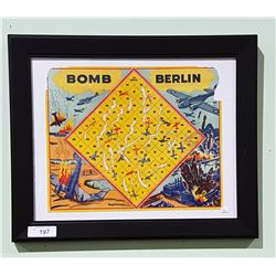FRAMED VINTAGE BOARDGAME