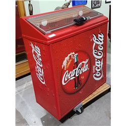 COCA-COLA COOLER IN WORKING CONDITION