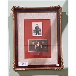 GUILT FRAMED ORIGINAL WW2 GERMAN PHOTOGRAPHS