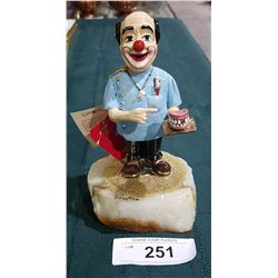 ORIGINAL RON LEE CLOWN DENTIST FIGURINE