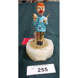 ORIGINAL RON LEE CLOWN DENTIST FIGURINE, LIMITED EDITION 472/2500