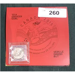 2015 ROYAL CANADIAN MINT FINE SILVER $20 COIN