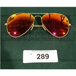 AUTHENTIC PAIR OF RAY-BAN AVIATOR GLASSES