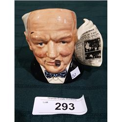 ROYAL DOULTON WINSTON CHURCHILL CHARACTER MUG