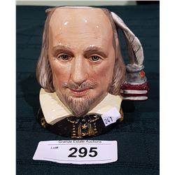 ROYAL DOULTON SHAKESPEARE CHARACTER MUG SIGNED
