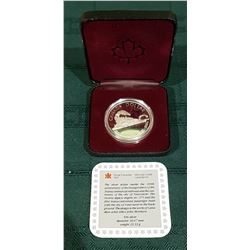 ROYAL CANADIAN MINT COMMEMORATIVE SILVER DOLLAR
