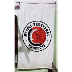 LARGE MCCOLL-FRONTENAC PRODUCTS BANNER