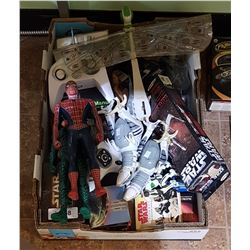 BOX LOT OF TOYS