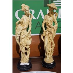 PAIR OF ASIAN STATUES