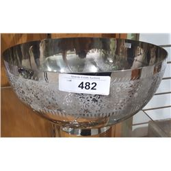 LARGE SILVER PLATE PUNCH BOWL