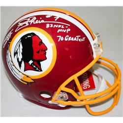 """Joe Theismann Signed Redskins Full-Size Authentic Pro-Line Helmet Inscribed """"SB XVII Champs,"""" """"83 NF"""