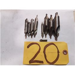 Lot of Center Drill