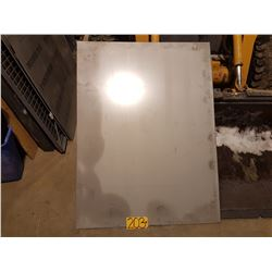 """Stainless Plate 36""""1/4 x 48""""5/16 x 3/16"""""""