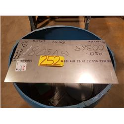 "Stainless Sheet 11"" x 20""1/2 x 0.50"