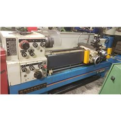 Lathe BAOGI 16 x 60 (2005)with  3jaw, 4 jaw, Steady Rest, Follow Rest, Face plate and Digital on 2 a