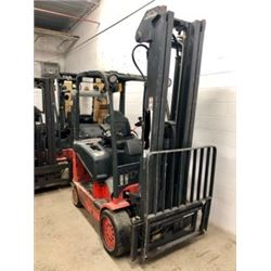 Linde E25c-600 Forklift (2005) 5000lbs for inside / Battery 48v not included but many choices availa