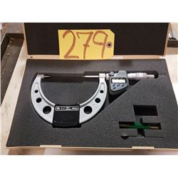 """Mitutoyo 342-364 3""""-4"""" IP65 Digimatic Point Micrometer W/ Data Output"""