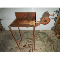Canadian Blower & ForgeCo. Portable manual Forge (needs bushing impeller)