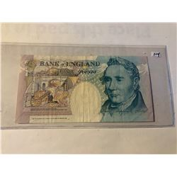 1990 Bank of England 5 Pounds Currency Note in UNC Condition