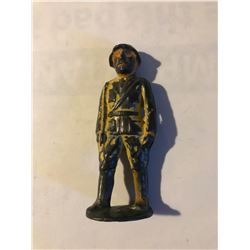 Very RARE Vintage Lead Army Soldier with Original touches of Paint Complete