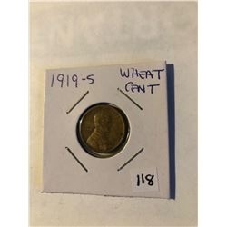 Nice Early 1919 S Mint Lincoln Wheat Cent