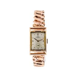 Solvil Paul Ditisheim Wrist Watch - 14KT Rose Gold