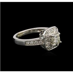 1.01 ctw Diamond Ring - 14KT White Gold