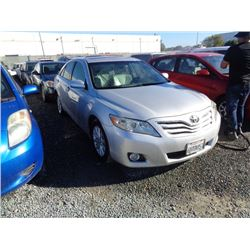 TOYOTA CAMRY 2010 T-DONATION