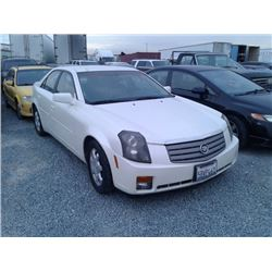 CADILLAC CTS 2003 T-DONATION