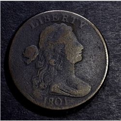 1801 LARGE CENT, VG