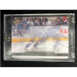 2017-18 TIM HORTONS TRIPLE EXPOSURE AUSTON MATTHEWS #TE-5