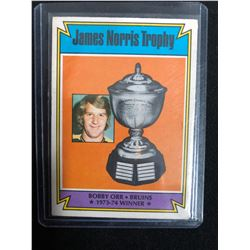1974-75 O-Pee-Chee #248 Bobby Orr James Norris Trophy