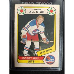 1976-77 OPC #65 BOBBY HULL CANADIAN ALL STAR