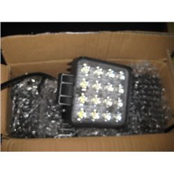 FOUR BY FOUR LED LIGHTS 4PC
