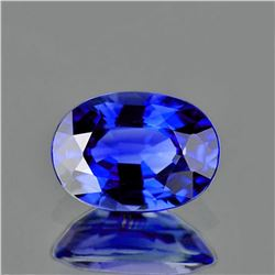 Natural Rare Royal Blue Benitoite 5x4 MM - Certified