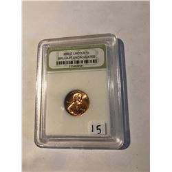 2006 D Lincoln Penny Certified Brilliant Uncirculate