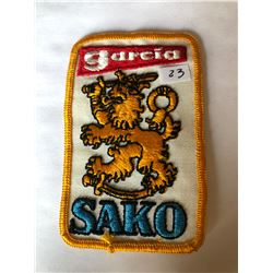 "Vintage ""GARCIA SAKO"" Outdoors Patch in Great Condition"